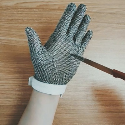 The cutting gloves
